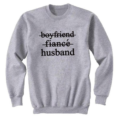 Husband Sweatshirt - grey