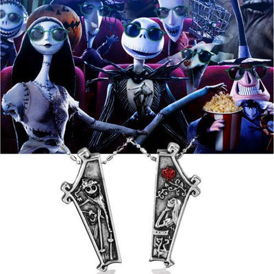 Jack and Sally Necklaces