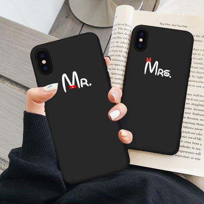 Mr and Mrs Phone Cases