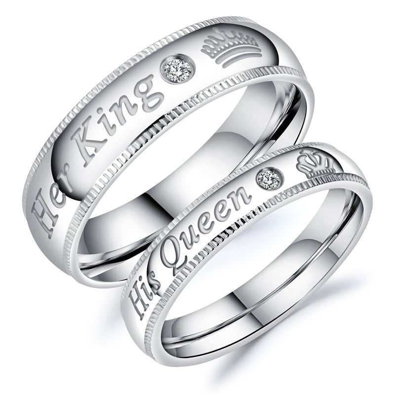 His Queen Her King Rings