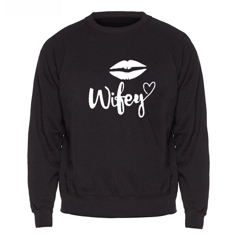Wifey and Hubby Sweatshirts