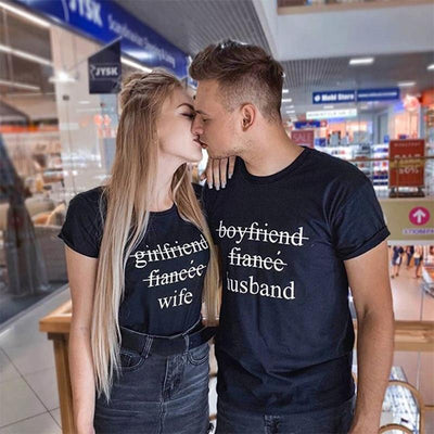 wife and husband t-shirts