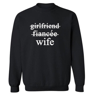 Wife Sweatshirt - black