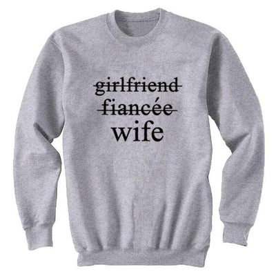 Wife Sweatshirt - grey