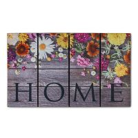Gummimatte Eco Fashion 435 07 Blumen 45 x 75 cm