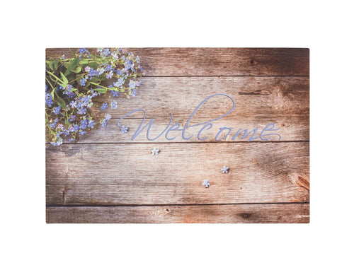 Gummimatte Eco Living 425 06 Lavendel Welcome 40 x 60 cm