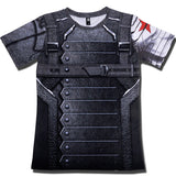 Short Sleeve 3D T Shirt