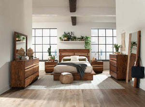 5pc E.king Bed Set