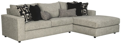 Ravenstone 2Piece Sectional with Chaise and Sleeper