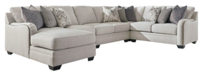 Dellara 5Piece Sectional with Chaise