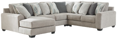 Ardsley 4Piece Sectional with Chaise