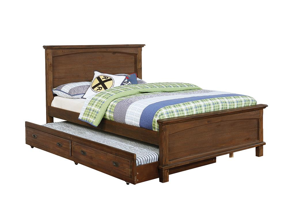 Kinsley Rustic Country Brown Full Bed