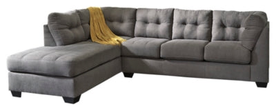Maier 2Piece Sectional with Chaise and Sleeper