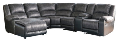 Nantahala 6Piece Reclining Sectional with Chaise