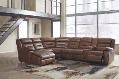 Coahoma 7Piece Reclining Sectional with Chaise