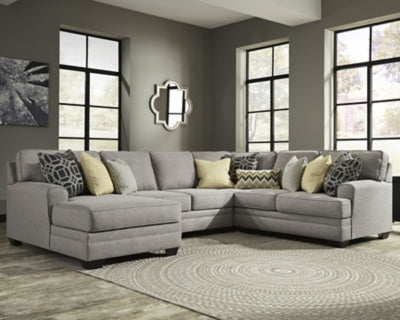 Cresson 4Piece Sectional with Chaise