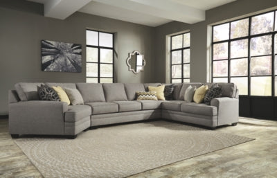 Cresson 4Piece Sectional with Cuddler