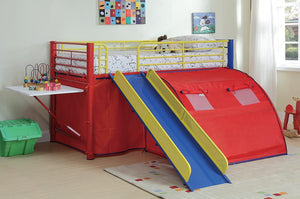 MultiColor Themed Red Blue and Yellow Loft Bed