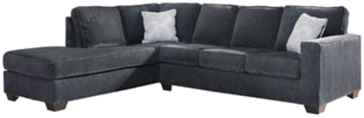 Altari 2Piece Sectional with Chaise and Sleeper