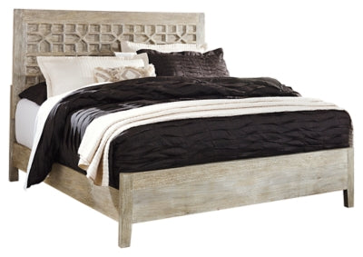 Halamay King Panel Bed