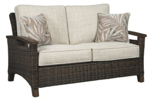 Paradise Trail Loveseat with Cushion