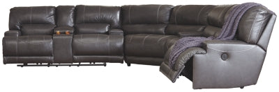McCaskill 3Piece Reclining Sectional with Power