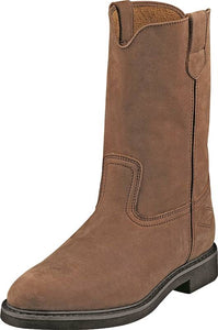 Diamondback Wellington Work Boot, 10 In, Unisex