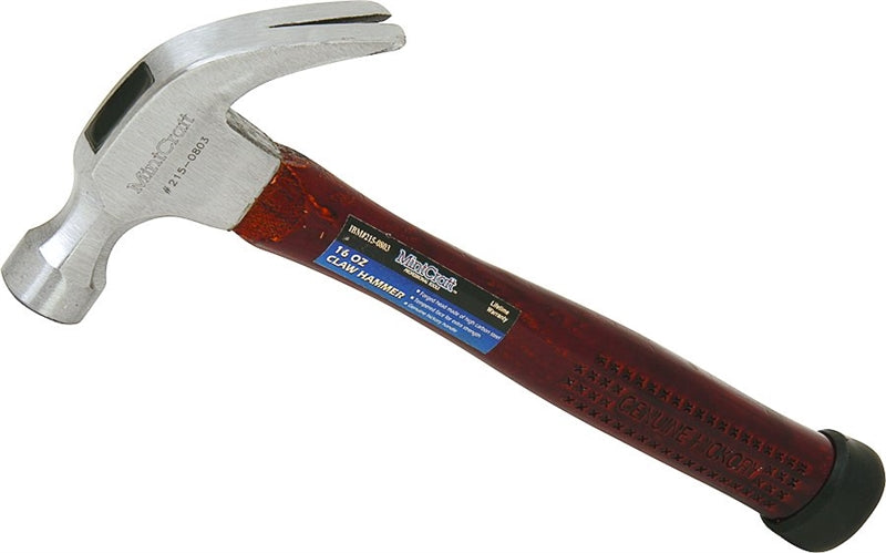Vulcan Curved Claw Hammer, 16 Oz, Forged Steel