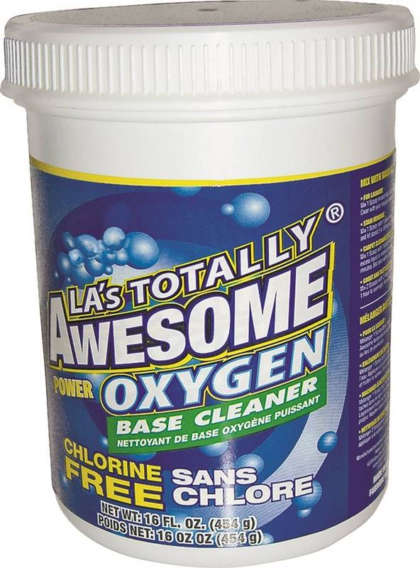 LA's Totally Awesome 062 All-Purpose Oxygen Base Cleaner, 16 oz Bottle
