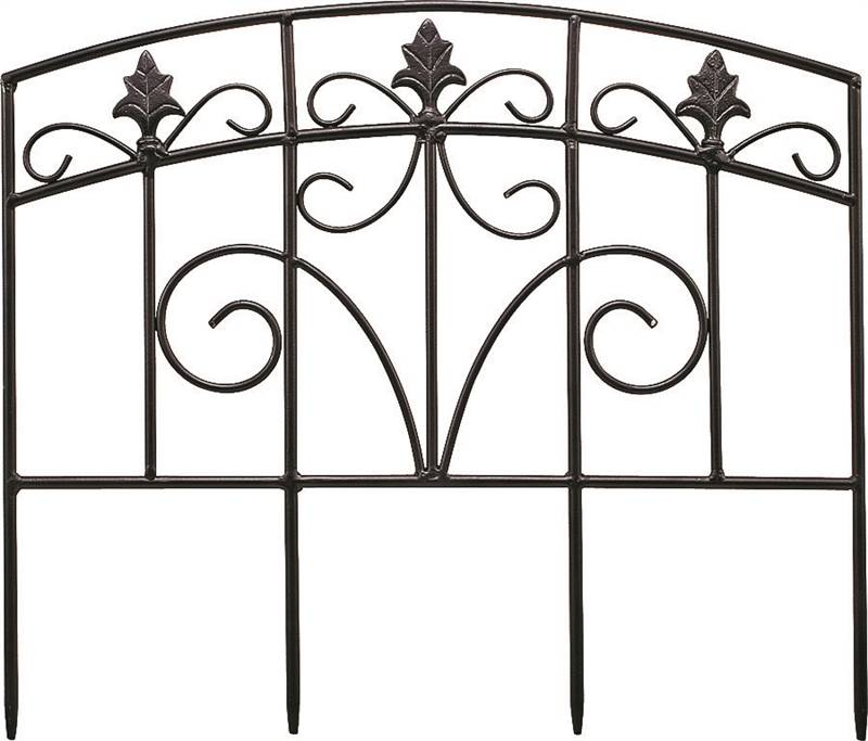 Landscapers Select Lawn & Garden Fence, 17-1/2 In W X 15-1/4 In H, Metal