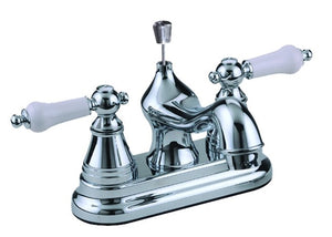 Boston Harbor Non-Metallic Lavatory Faucet, 1.2 Gpm At 60 Psi, 2 Lever Handle, 5.91 In L