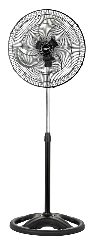 PowerZone High Velocity Pedestal Fan