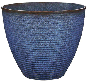 Landscapers Select Wave Planter, 17-3/4 In Dia 15 In H, Resin