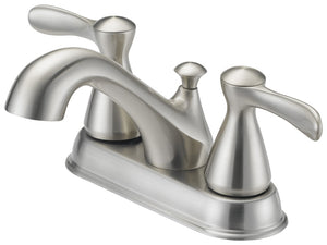Boston Harbor Lavatory Faucets, Two Handle, Br. Nickel
