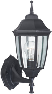 Boston Harbor Dimmable Outdoor Lantern, (1) 60/13 W Medium A19/Cfl Lamp, Black