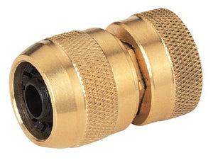 Landscapers Select Heavy Duty Hose Coupling, 5/8 In, Female, Solid Brass