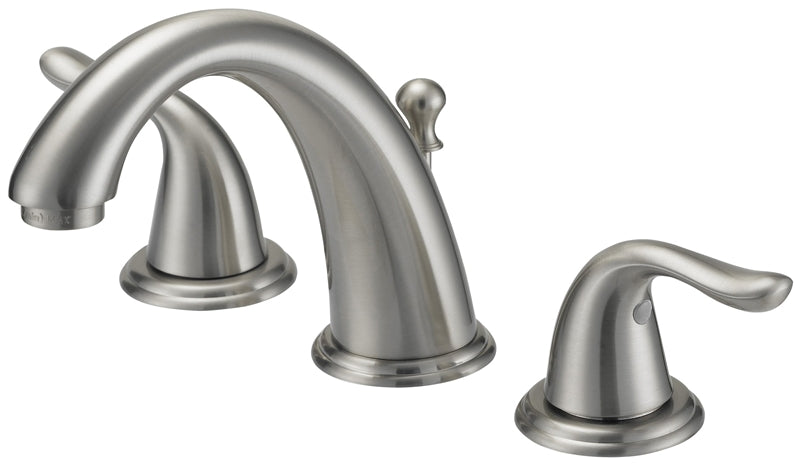 Boston Harbor Lavatory Faucets, Two Handle Widespread, Br. Nickel
