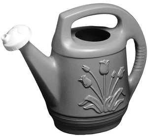 Bloem T6213-60 Watering Can, 2 gal Can, Polypropylene, Peppercorn