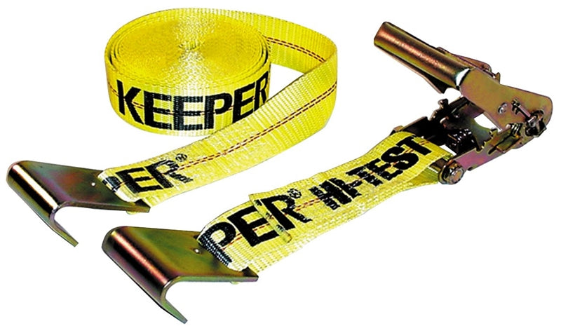KEEPER 04623 Tie-Down, 3333 lb Weight Capacity, 27 ft L, Polyester