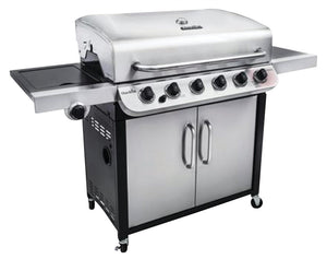 CHAR-BROIL CONVECTIONAL GAS GRILL WITH CABINET