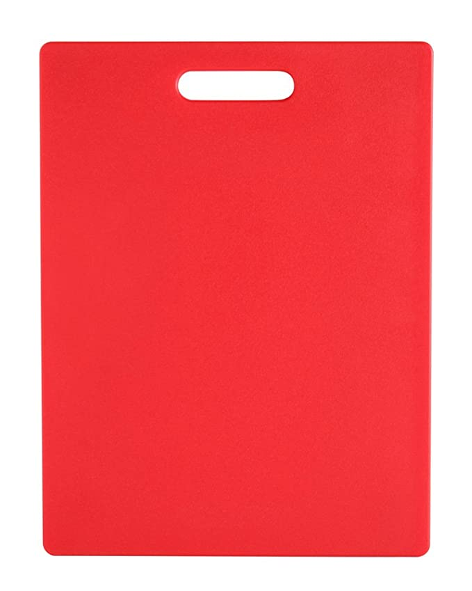 8.5X11 RED CUTTING BOARD