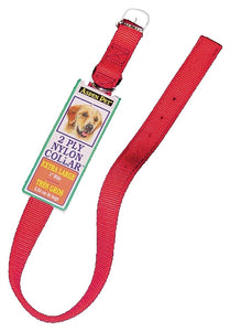 21406 NYLN RED COLLAR26X1 2PL