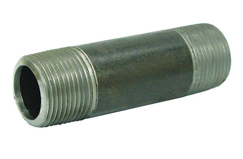 BK Products 1/2 in. MPT x 4-1/2 in. L Galvanized Steel Nipple