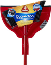 Load image into Gallery viewer, Dual-Action Angler Angle Broom with Premium Dust Pan