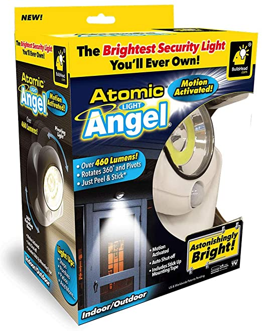 ATOMIC LIGHT ANGEL (LED LIGHT)