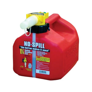 No Spill 1.25 Gallon Gas Can