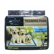 Load image into Gallery viewer, Greenbone For Dog Disposable Pet Waste Pads Large 100 count