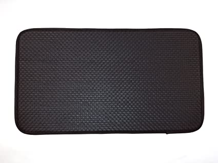 MAT CUSHION 18X30'' BLACK