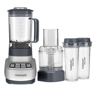 Cuisinart Velocity Gray Plastic Blender&Food Processor 56 3 speed