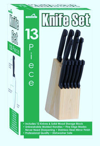 KNIFE SET 13pcs